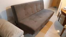 Sofá cama cama praticamente sem uso