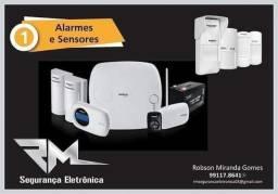 Título do anúncio: Alarmes e sensores para sua casa