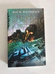Percy Jackson e os olimpianos volume 04 - a batalha do labirinto