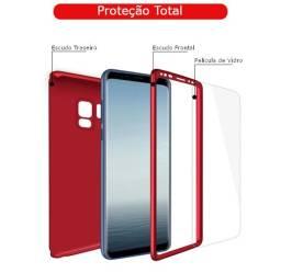 Case 360 Proteção Total Samsung Galaxy Todos