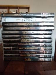 Coleção DVDs 007