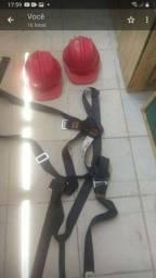 2cintos paraquedista usados 2 vezes