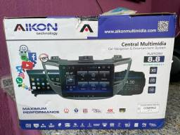 Central multimidia AIKON jeep Compass