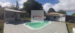 Casa ampla com 4/4, 2 suítes, piscina, churrasqueira (Anual)