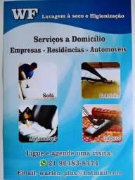 WF Higienização Impermeabilização sofá