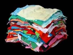 Trapo de malha costurada 100% algodão Kg 3,50