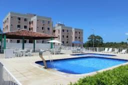 Apartamento com moveis fixos possui 3 quartos, 57 m² em Serraria-Maceió-AL