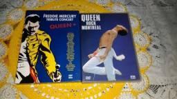2 Dvds Queen -Tributo a Freddie Mercury + Rock Montreal