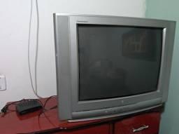 Tv Lg tubo e conversor Gravador Digital Intelbras