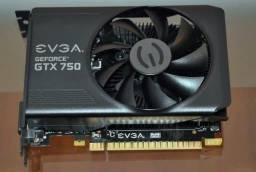 Placa de vídeo GTX 750 TI 1GB de RAM 128bits GDDR5