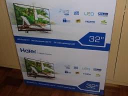 Haier led 32 pol opção para quem quer TV nova lacrada de qualidade maxima em P.Alegre-rs