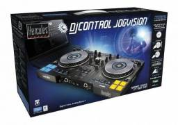 Controlador DJ Jog Vision Hércules Novo