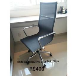 Cadeira Cromada Tok Stok