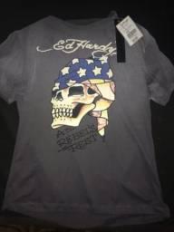 Modelo de camisas Ed Hardy todas originais na etiqueta 0c4390efca7