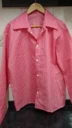 Camisa xadrez ( masculina ) Caipira!