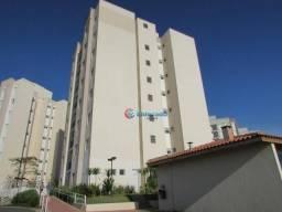 Apartamento com 2 dormitórios para alugar, 64 m² por r$ 900/mês - residencial viva vista -