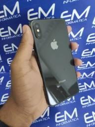 Disponivel Hoje X 64GB Preto-Garantia Apple - Seminovo - Somos Loja Fisica Niterói