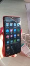 A10 Samsung 32Gb Memória Vermelho semi novo!Leia anuncio