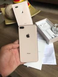 IPhone 8 Plus 64gb Gold ( Aceito Cartão )