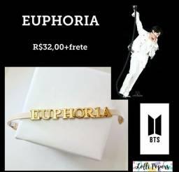 Pulseira BTS - EUPHORIA