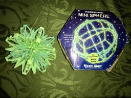 Mini esfera expansível