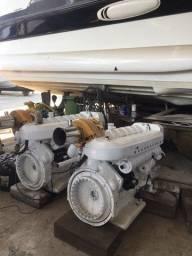 Motor marítimo Megatech Mercedes 750 Hp cada zero