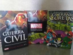 Livro Box Marvel: Guerra Civil e Guerras secretas