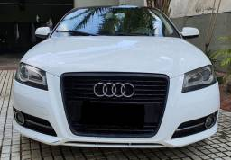 Audi A3 Sportback 2.0 200cv Turbo Completo Couro Rodas Blindado