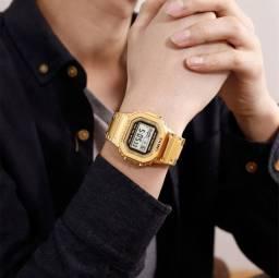 Relógio Fullmetal Gold