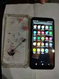 Celular Sansung j4 plus,muito novo.