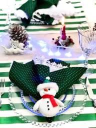 Kit para mesa posta natal