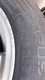 Troco rodas 15 por 17