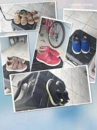 Roupa e sapato de 1 a 3 anos de menina