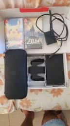 Vendo Nintendo Switch V1 (novo, pouco usado)