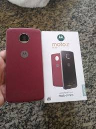 Motorola moto Z play com tela quebrada