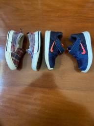 Nike e converse TAM 20 infantil original