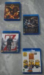 5 dvds BluRay Originais