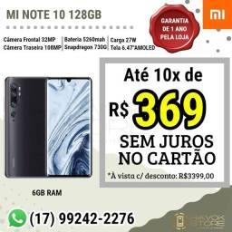 Mi Note 10 - Linha Premium - 128gb ROM/6gb RAM