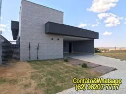 Casa em Condominio Fechado - Goiânia, 3 Suítes(1Master), Piscina, Jardins Napoles