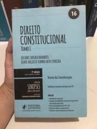 Livros de direito para concursos: Direito Constitucional Tomo 1 e 2