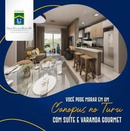 78 - Lançamento Turu - 57m² com Varanda Gourmet!!!