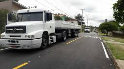 MB 1634 4x2 2008 + CARRETA RANDON 1990