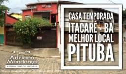 Casa para Temporada em Itacaré, Centro, 5 dormitórios, 1 suíte, 3 banheiros, 1 vaga