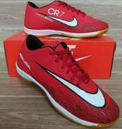 Tênis Futsal Nike Red