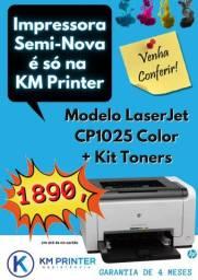 Impressora LaserJet HP Cp1025 Color