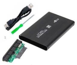 "Case 2.5"" para HD de notebook USB 2.0, usado comprar usado  Campo Grande"