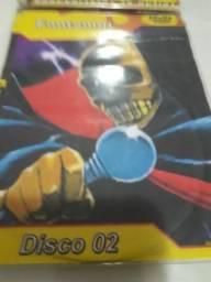 Fantomas Desenho Raro e antigo 3 dvds