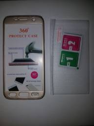 Capa Anti-impacto 360 Samsung s7 Flat