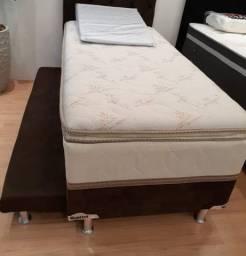 Cama cama cama cama solteiro com auxiliar disponível para entrega