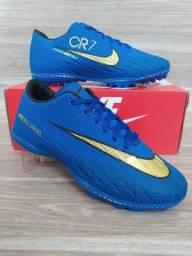 Chuteira Nike Society Blue